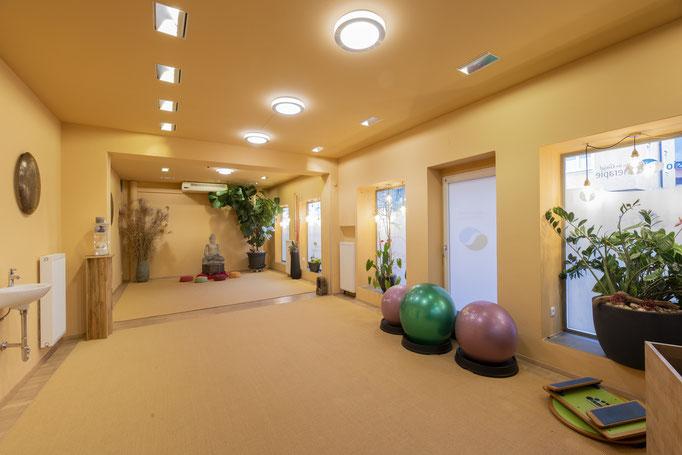 Unser Bewegungsraum, der Lebensraum, ist die perfekte Location für Kleingruppen-Trainings und Personal Trainings.