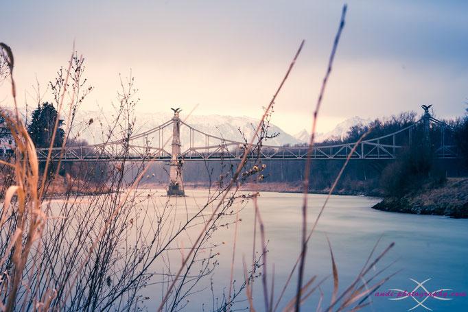 Grenzbrücke in Laufen