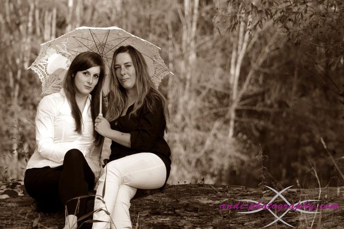 Simone und Marianne