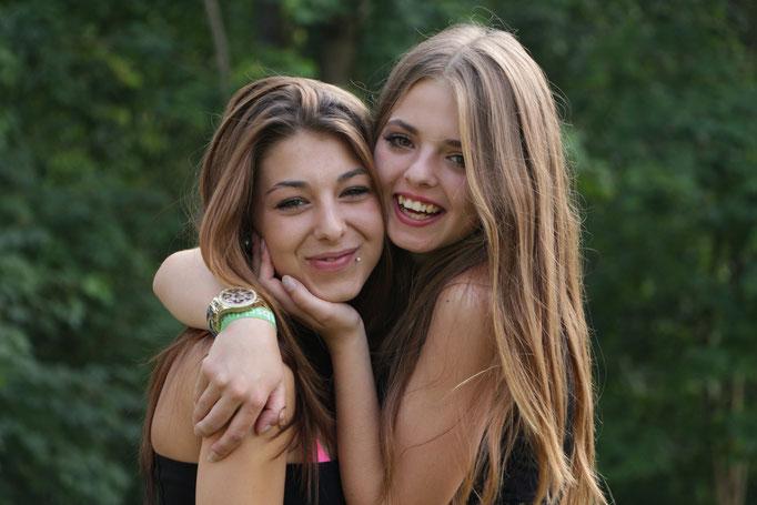 Alexandra und Sabine