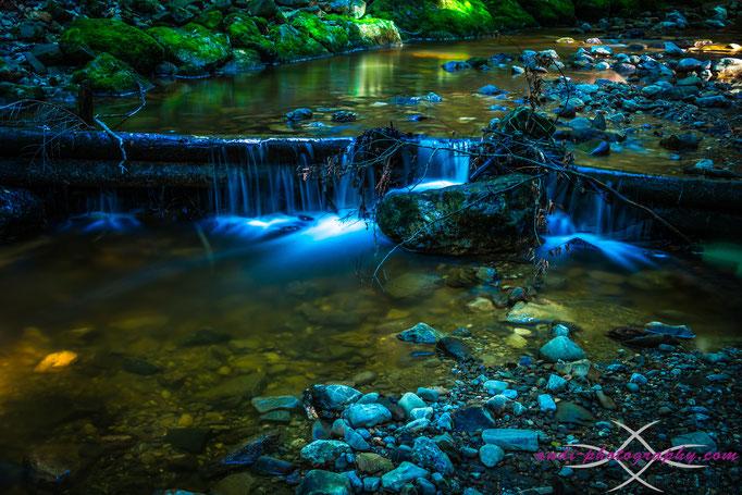 Bachlauf beim Wildkarwasserfall (Teufelsgraben)