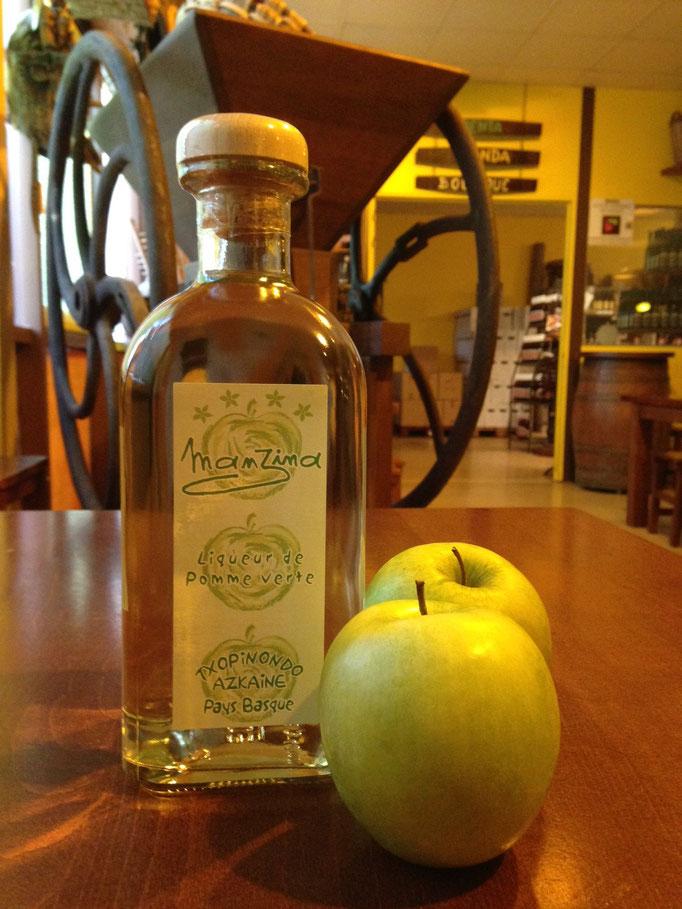 Manzina, la liqueur 100% pomme