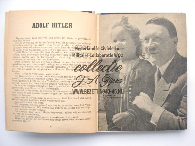 NSB Zakboekje jeugdstorm 1944 Hitler