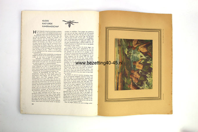 NSB-Nederlandse-Arbeidsdienst-NAD-Vorming-blad-Kader-Kesrtnummer-boek-No.12-1943-