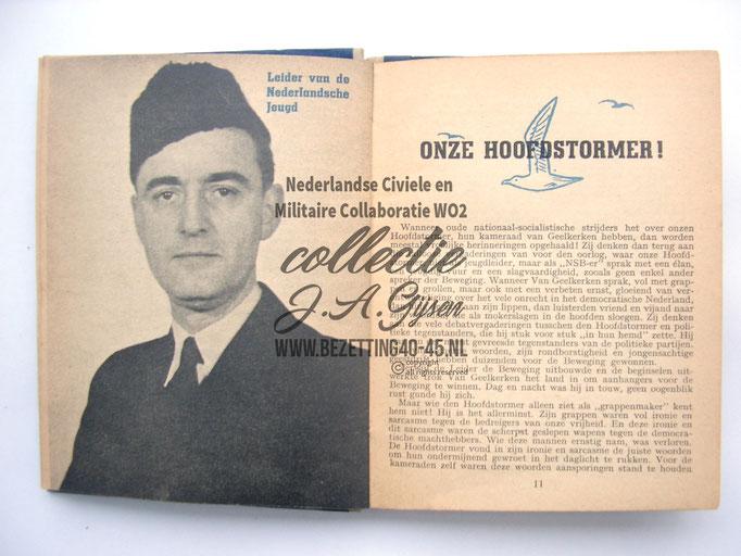 NSB Zakboekje jeugdstorm 1944 Geelkerken