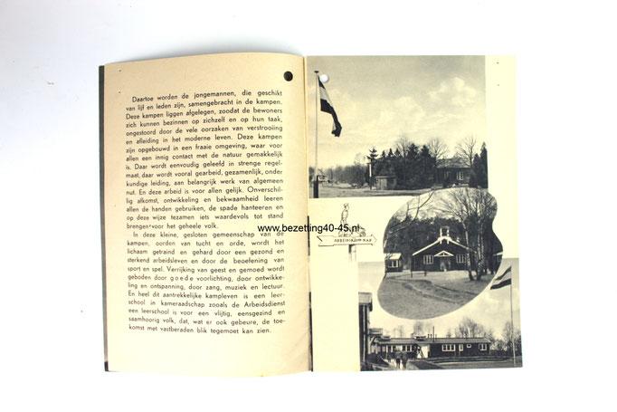 Nederlandse Arbeidsdienst werving brochure 1940