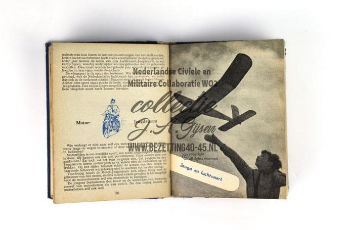 NSB Zakboekje jeugdstorm 1944 Luchtvaart