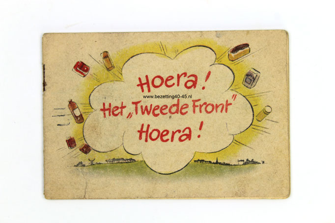 "Nederlandse propaganda strip ""Hoera! Het Tweede Front, Hoera!'"