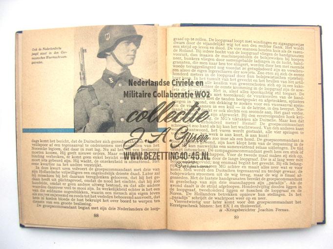 NSB Zakboekje jeugdstorm 1944 Nederlandse SS