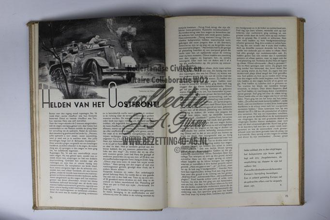 NSB Jeugdstorm Stormmeeuw complete jaargang 1942 ( Nederlandse SS Vrijwilliger)