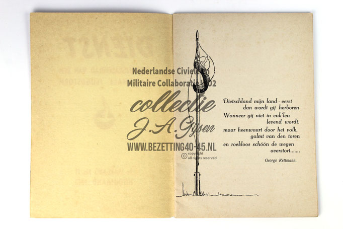 (NSB) Jeugdstorm Dienst stormerskaderblad 1e jaargang no 11 Hooimaand 1942.