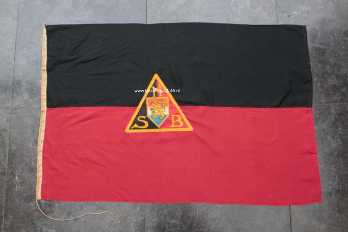 NSB vlag  (vlag der beweging) - Dutch NSB Flag.