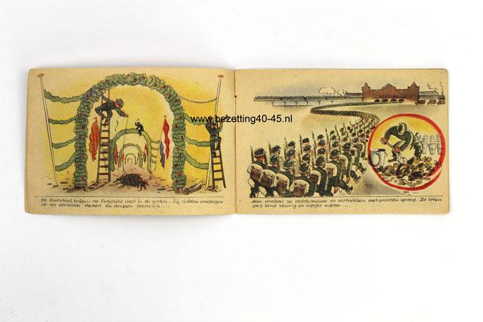 "Duitse propaganda strip ""Hoera! Het Tweede Front, Hoera!'"