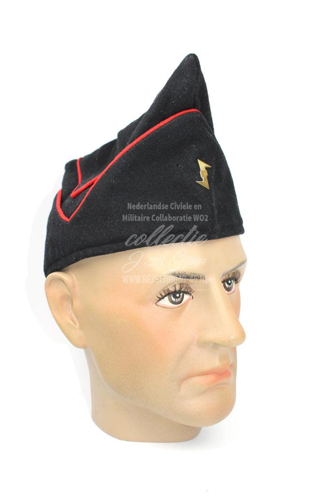 NSB WA Kwartiermuts. (schuitje, pet)  N.S.B. NSB visor overseas cap schiffchen Schirmmütze