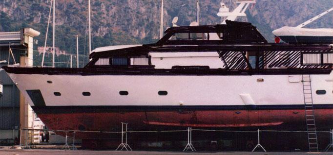 M.Y.Life 28m LüA visuell mit Filzstift das Schiff umgebaut...