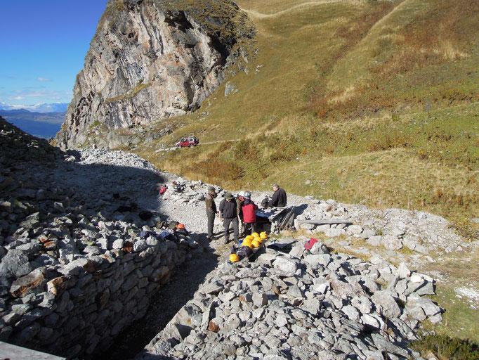 Silberminen Alp Taspegn (Foto: David Pedrett)