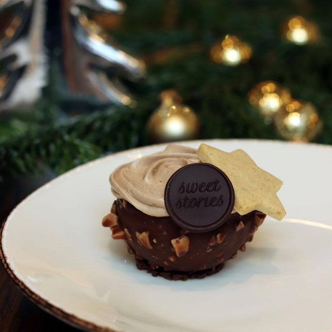 Lebkuchen & dunkle Schokolade