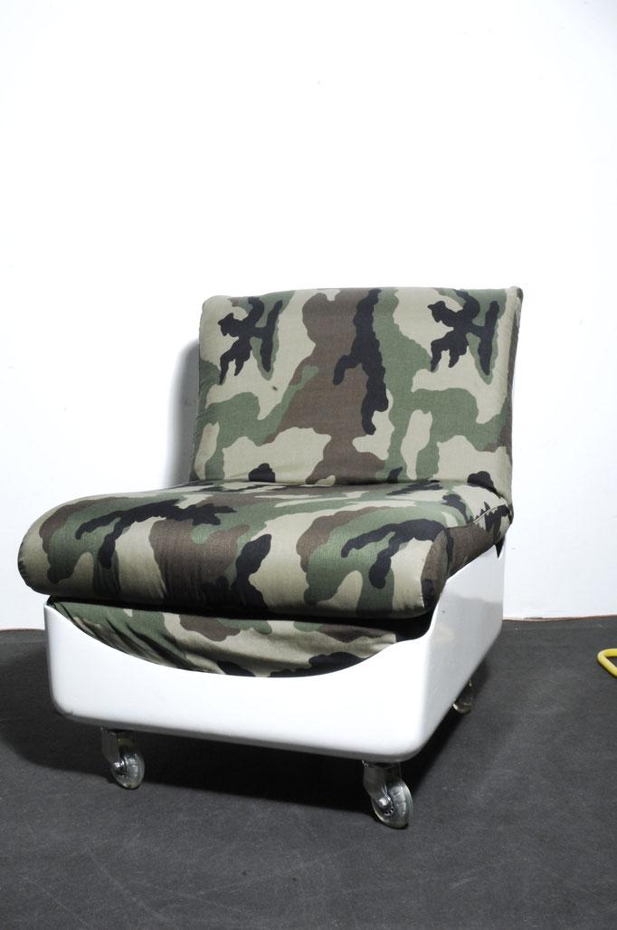 Unikat redesign org. 70er Jahre Sessel