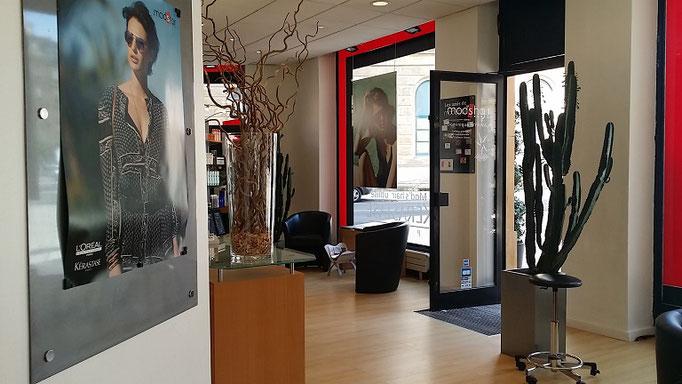 Salon coiffure modshair metz - entrée