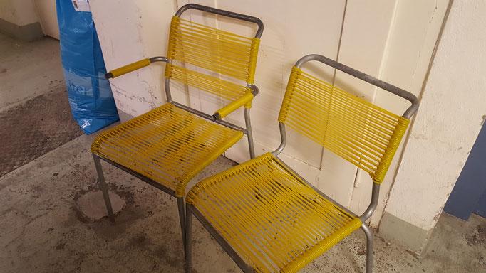Altorfer Stühle neu bezogen