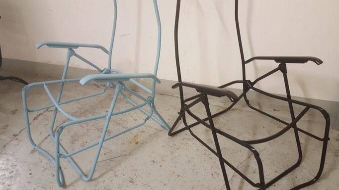 Liegestuhl neu gespritzt