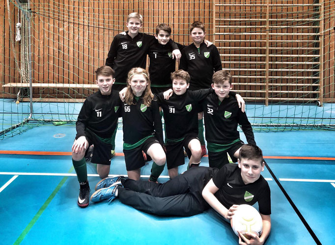 D1-Jugend, 6.Platz in Planegg