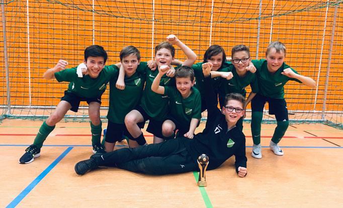D2-Jugend, 3.Platz Business Campus Cup Garching