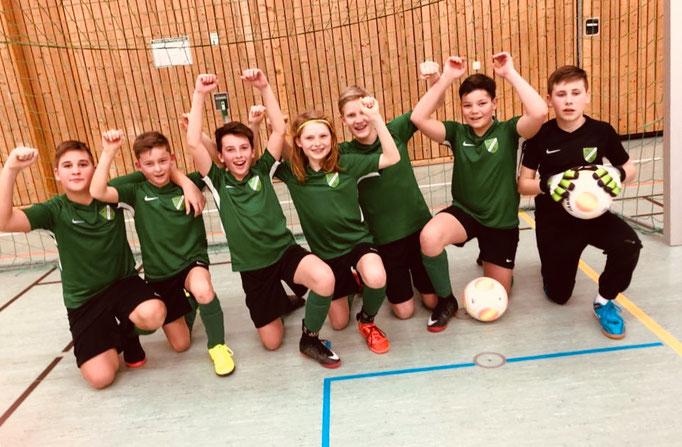 D1-Jugend, Turniersieg beim SV Planegg-Krailling 02.03.2019