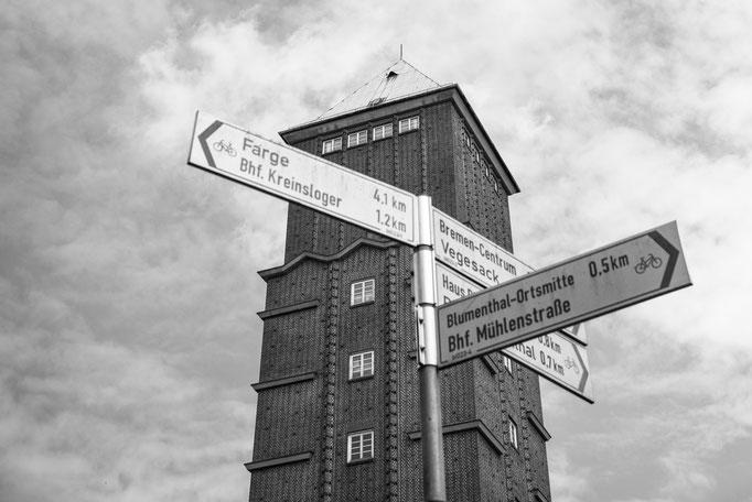 Wasserturm Blumenthal in Bremen-Blumenthal