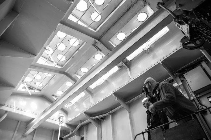 im Maschinenraum