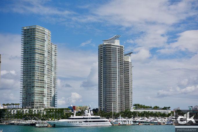 Hafen von Miami Beach