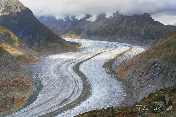Naturbilder - Aletschgletscher (Schweiz)