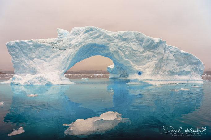 Naturbilder - Eisberg bei Narsaq (Grönland)