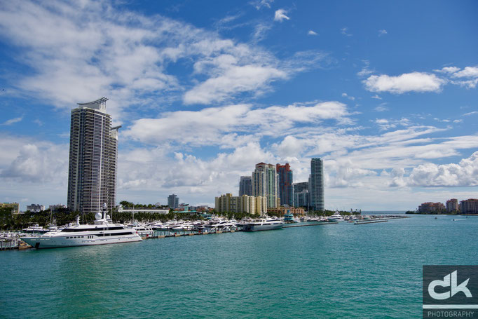 Skyline von Miami Beach