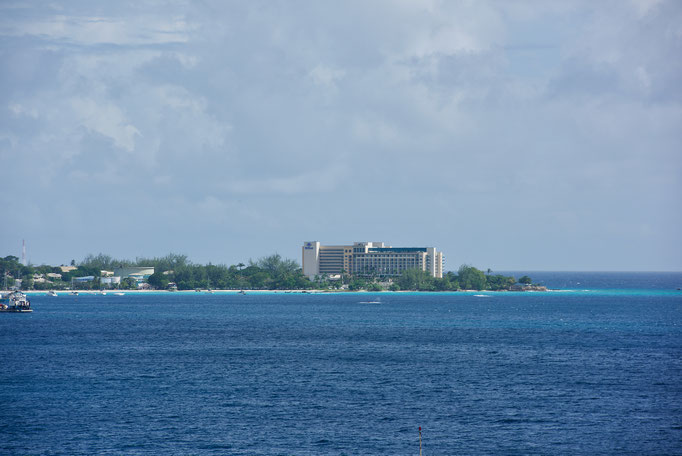 Das Hotel Hilton auf Barbados