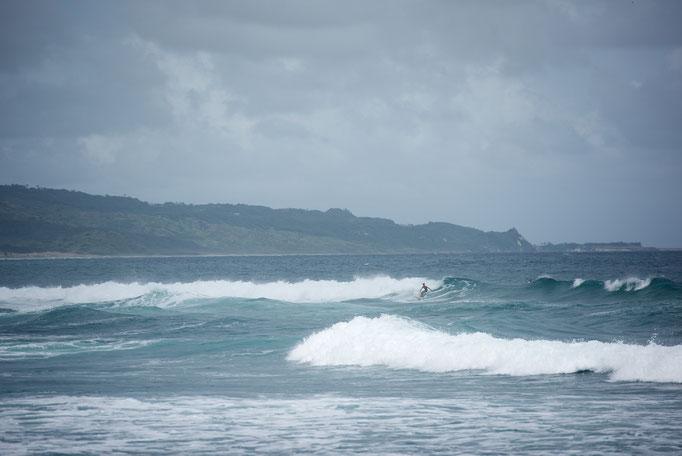 Die Ostküste ein Surfparadies