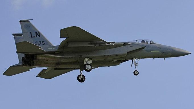 US AF F-15 86-175