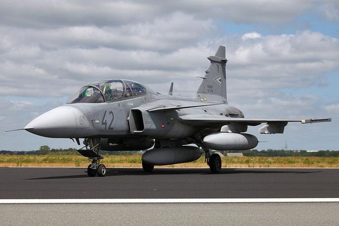 HUNAF Saab JAS 39 Gripen 42