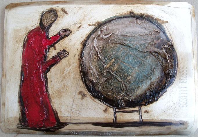 Galileo, Vliesbild, 30 x 40 cm, 2011