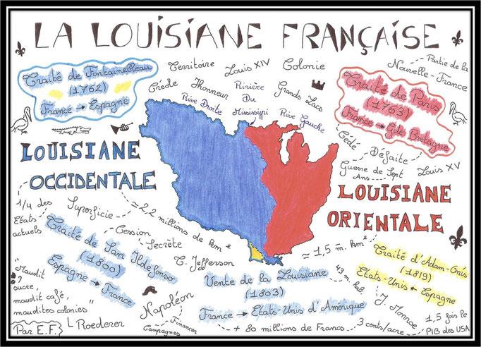 Dessin N°20 / Thème N°3 : La Louisiane Française