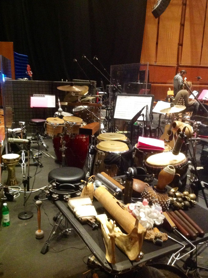 Percussion set - con sousaphonix - Auditorium Roma