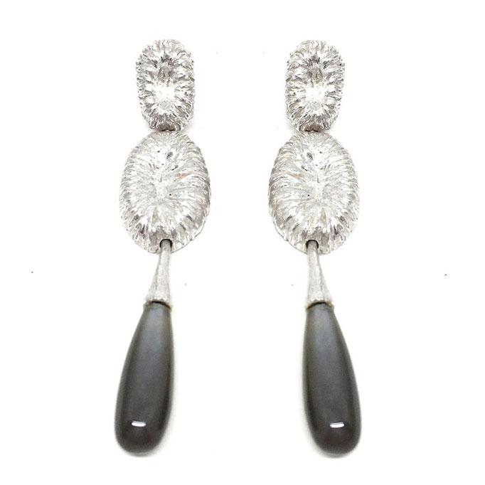 Maldives Earrings Moonstone