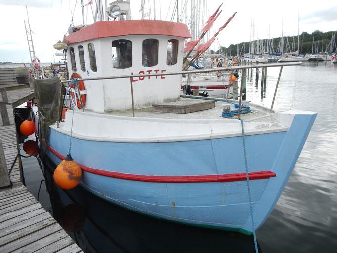 Fischkutter Lotte in Høruphav