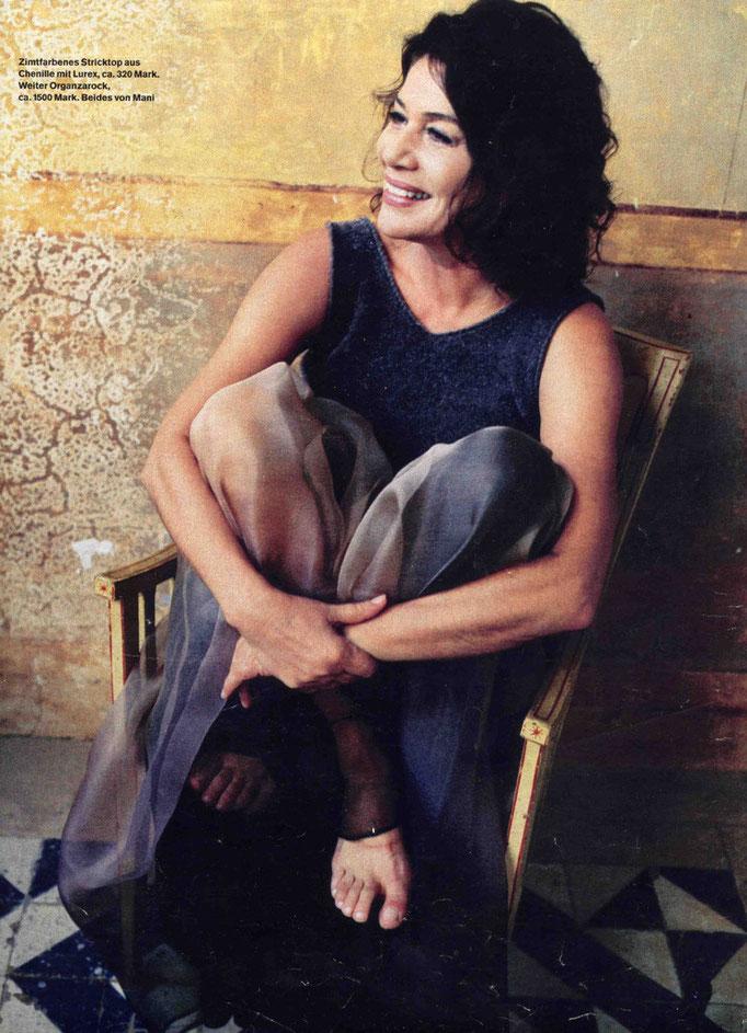 Hannelore Elsner - Fotografin: Gabo