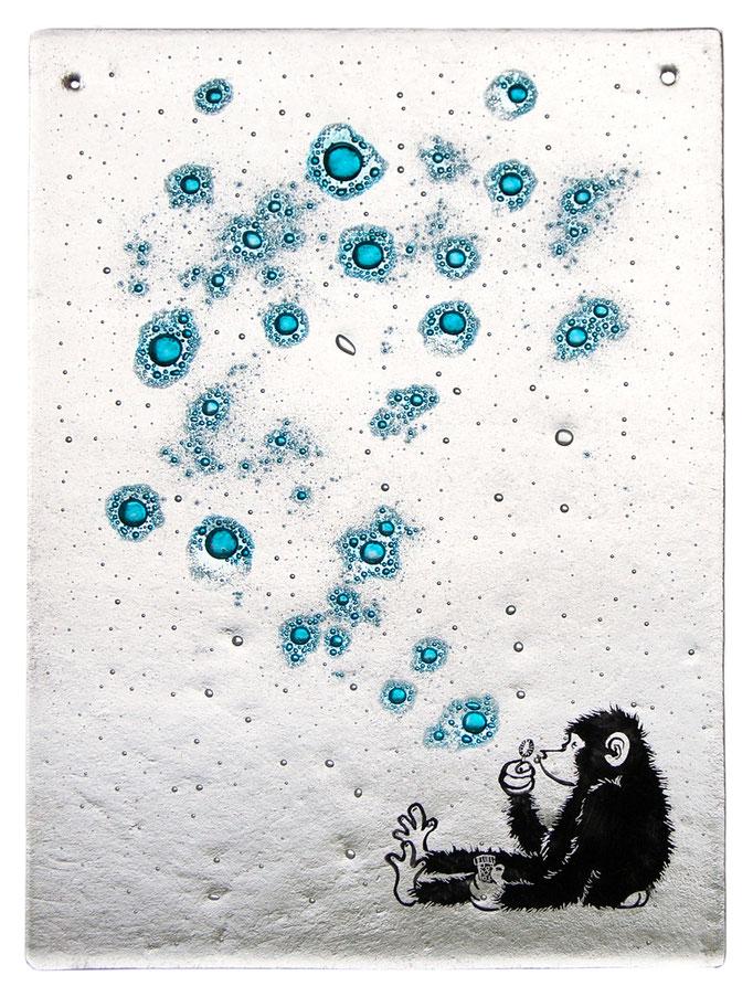 glasfusing aap / glassfusing monkey