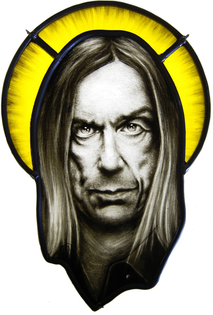 portret iggy pop