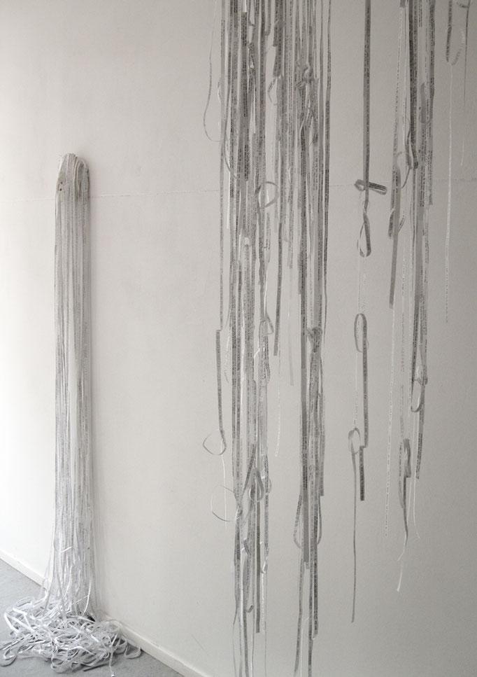"""""""Schwebend"""", """"Kopfgeburt"""", 2017, Ausstellungsansicht Raum1, Galeie k34"""