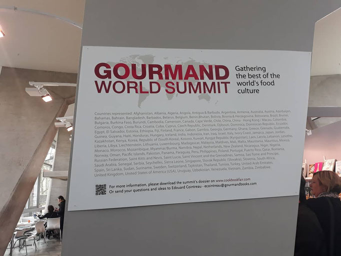 Gourmand World Summit Paris 2019