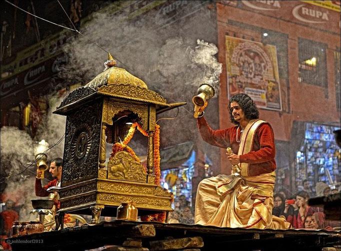 Zeremonie Ganga Aarti