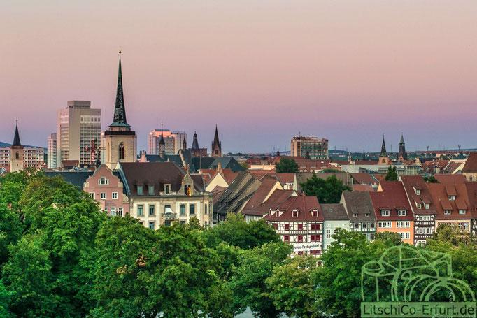 Abendstimmung, Erfurt